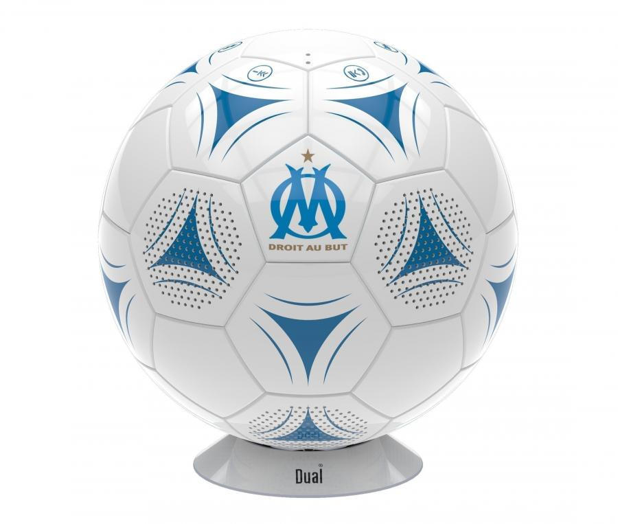 OM Ball Portable Speaker White/Blue