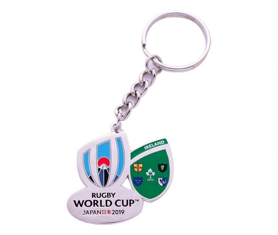 Porte-clés Irlande RWC Japan 2019 blanc