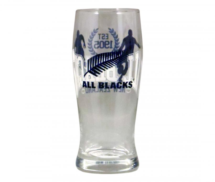 Lot de 2 Verres à Bière All Blacks 30 cl