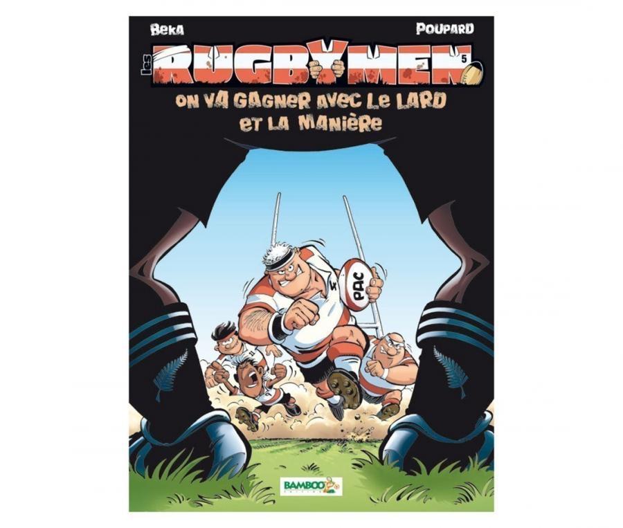 Bande dessinée RUGBYMEN Tome 5