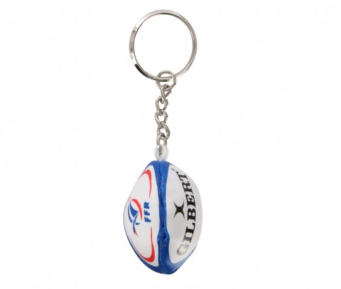 Porte-clefs Gilbert Ballon France FFR Rugby