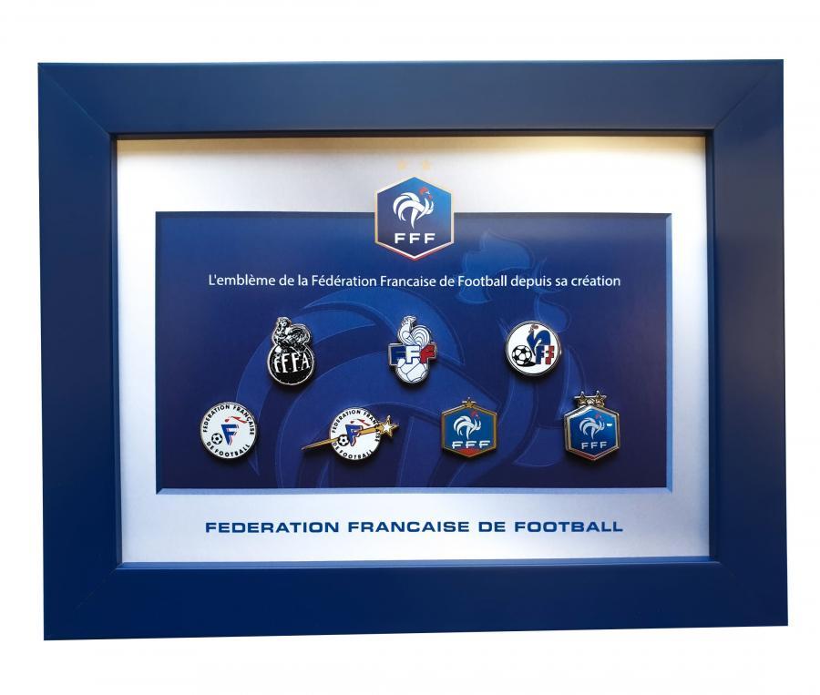 Cadre FFF Pins Histoire du logo
