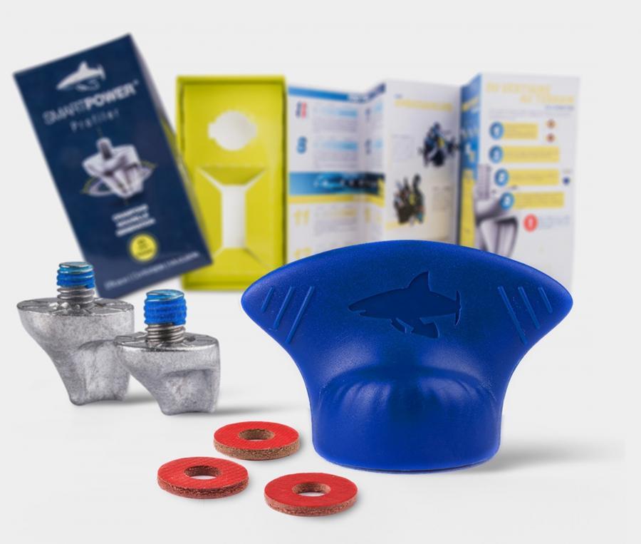 12 Crampons aluminium Universels Profiler 11/13mm Smartpower