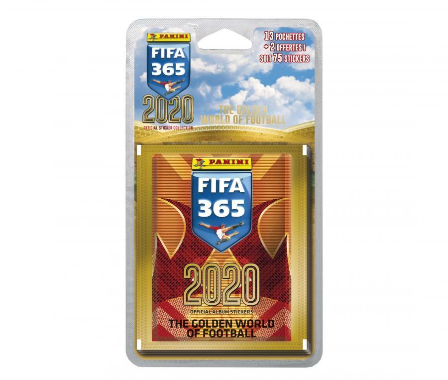 75 Stickers PANINI FIFA 365 2020