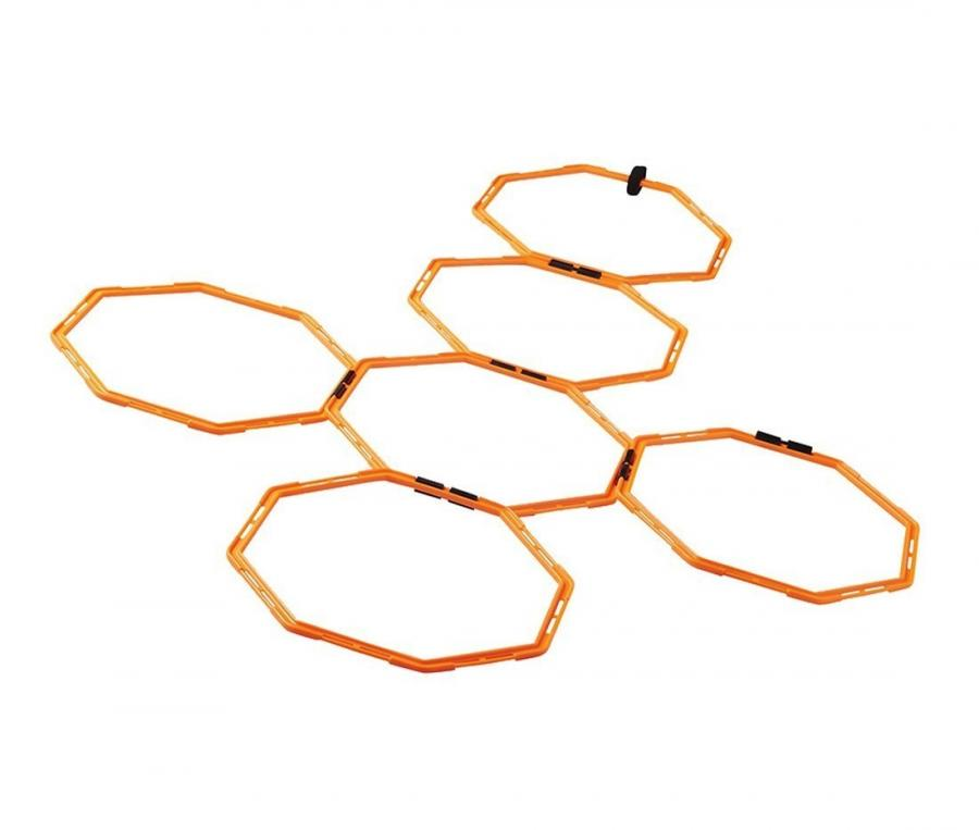 Anneaux d'exercices d'agilité Nike Agility Orange