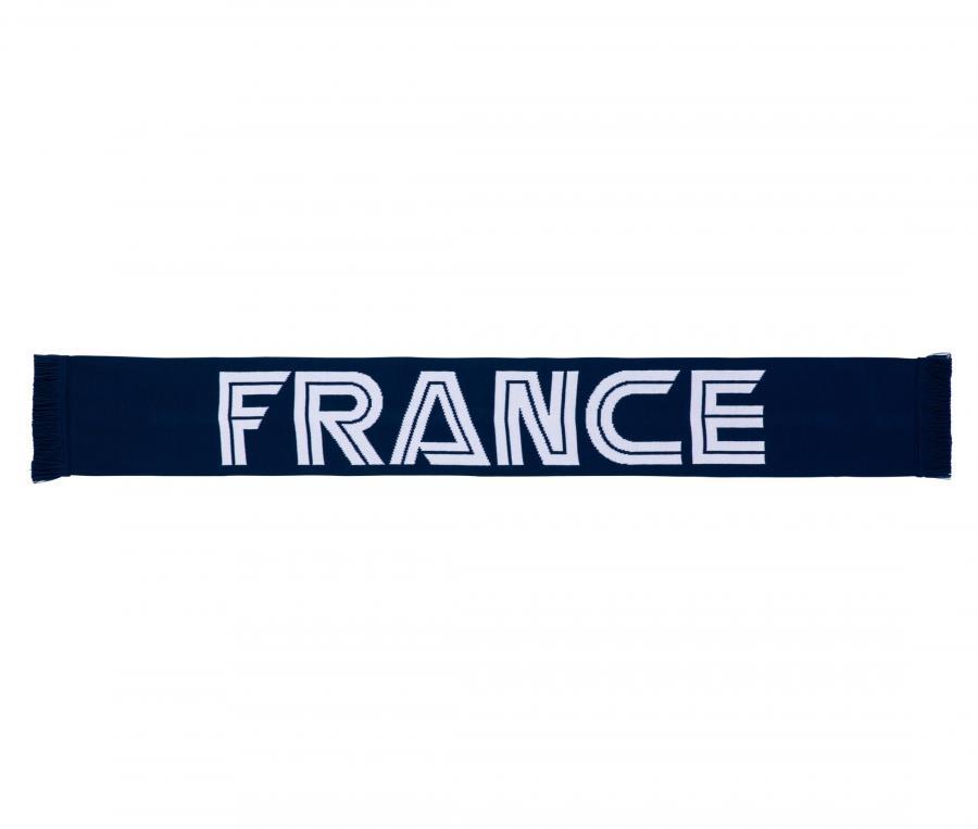 Echarpe France Jacquard Bleu