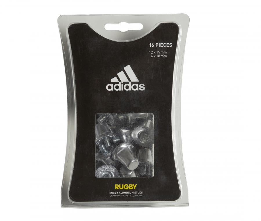 Lot 16 Crampons de rugby adidas Aluminium