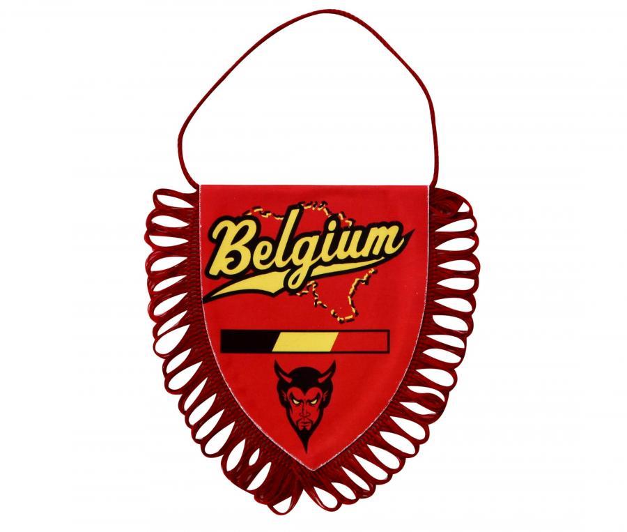 Fanion Belgique Rouge