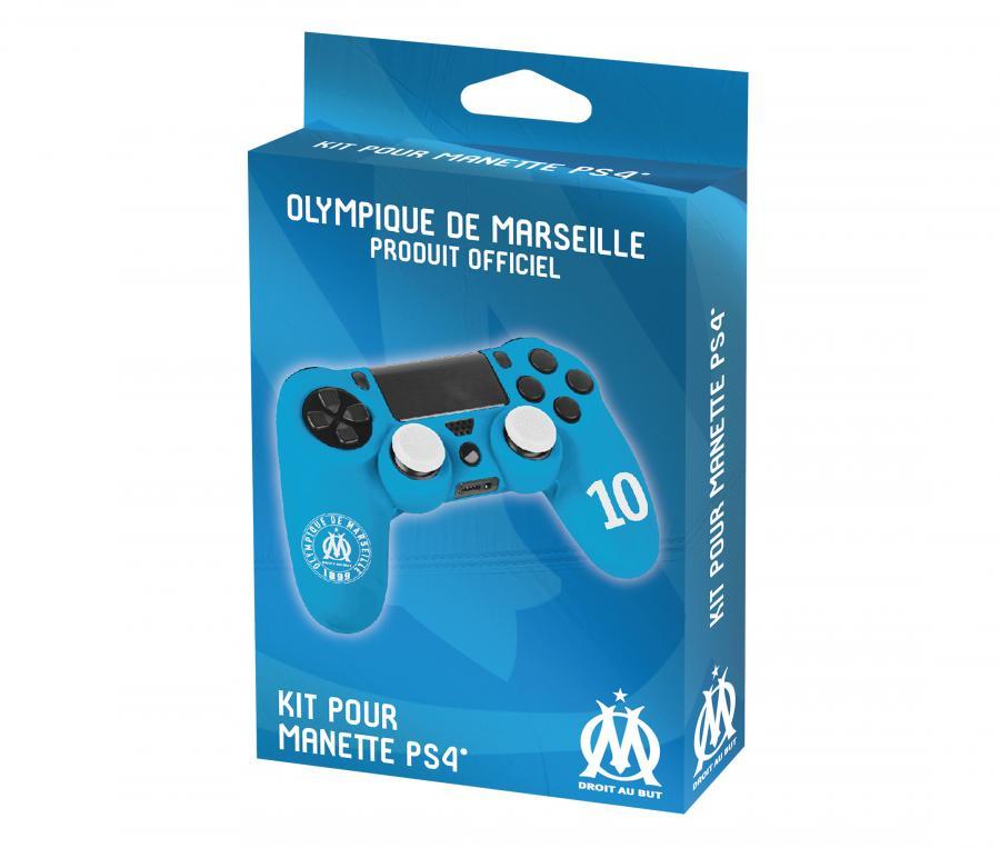 Kit OM pour Manette N°10 PS4 Bleu