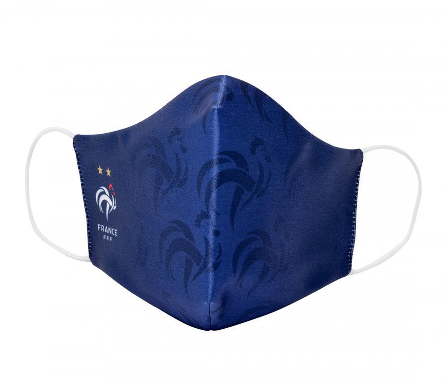 Masque de protection France All Over Bleu