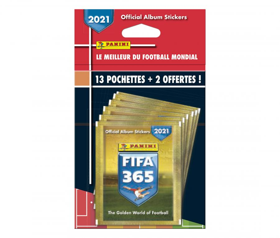 65 Stickers + 10 Stickers Offerts Panini FIFA 365 2021