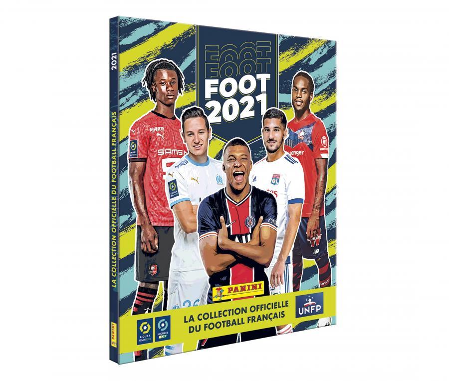 Coffret collector 175 stickers + 1 Album Collector PANINI Foot 2021
