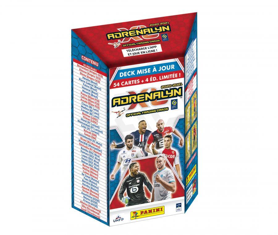 Boîte de 54 cartes + 4 cartes Édition Limitée PANINI Adrenalyn XL 2020/2021