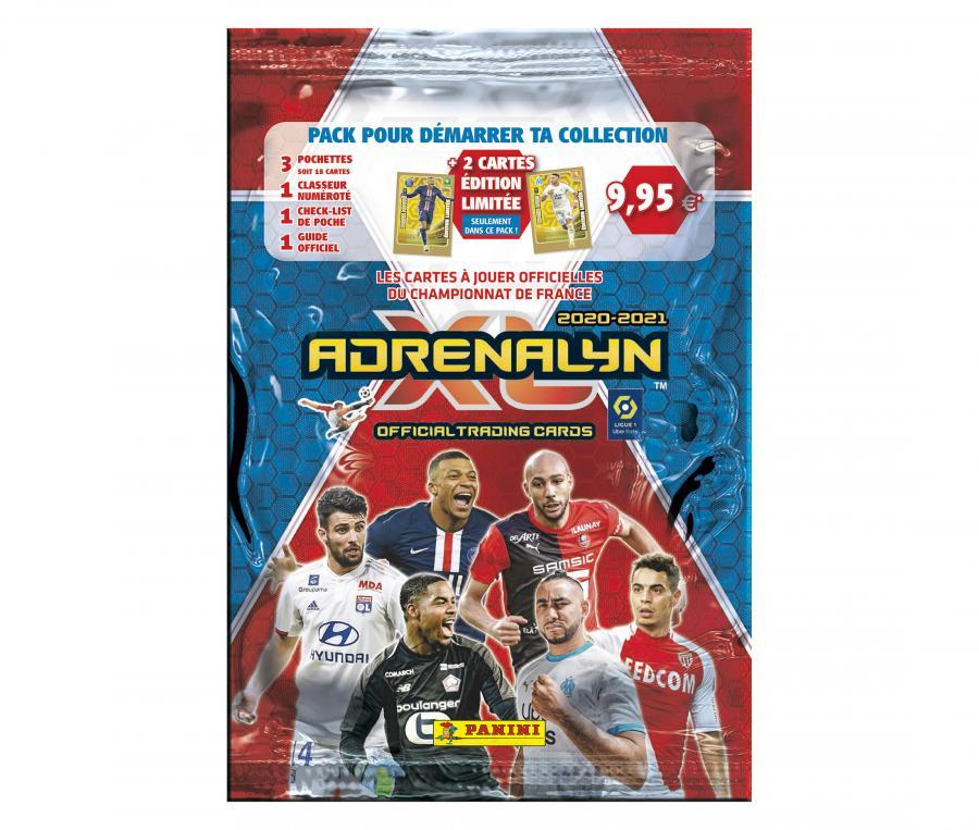 Pack de démarrage PANINI Adrenalyn XL 2020/2021