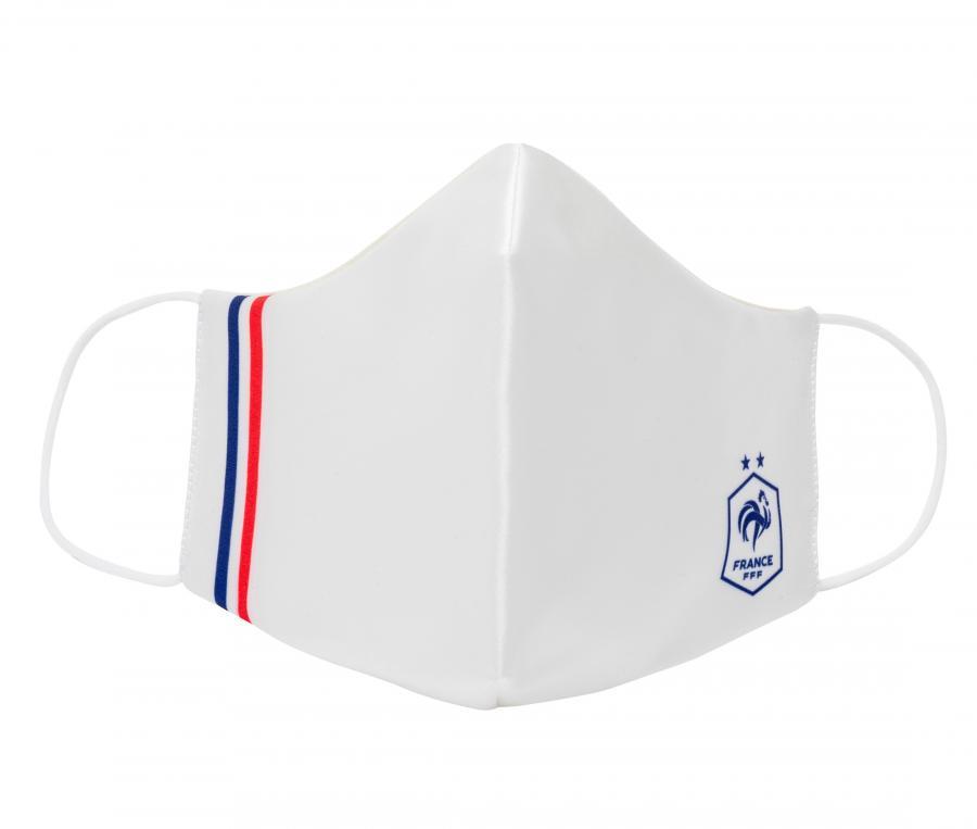 Masque de protection France Blanc Junior