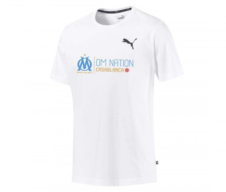 OM Puma Nation Casablanca Men's Tee-shirt White