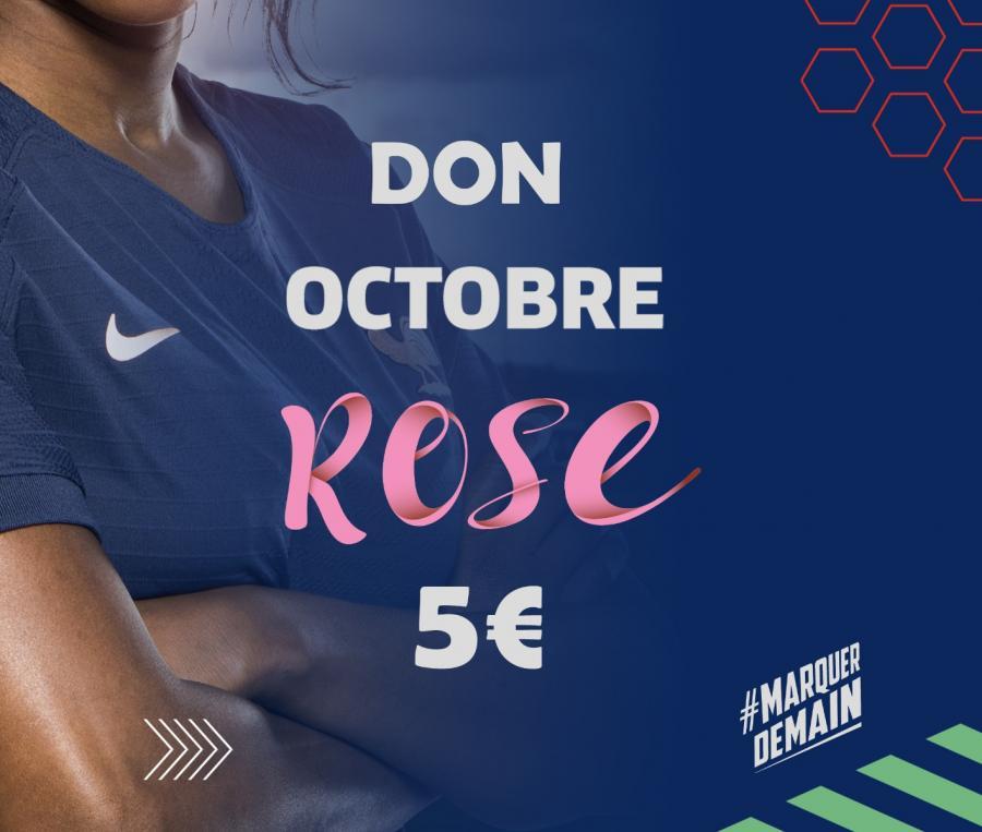 Don pour Octobre Rose 5€