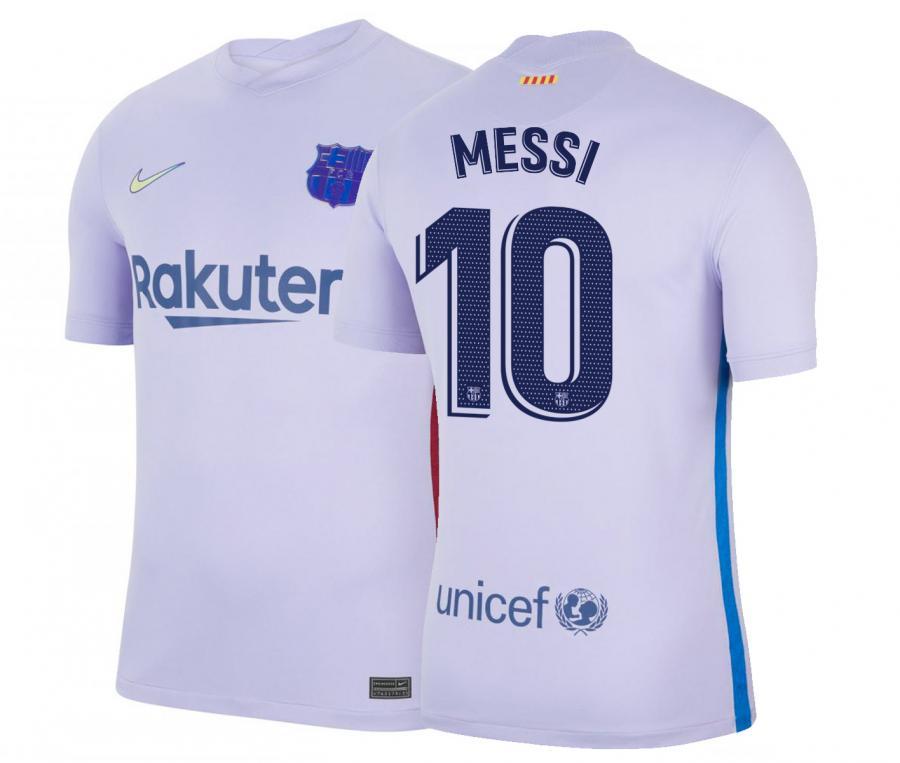 Maillot Barça Extérieur Messi 2021/2022