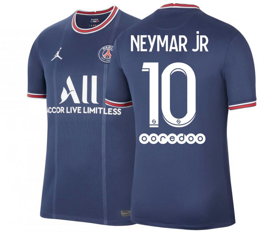 Maillot Jordan x PSG Domicile Neymar Jr 2020/2021 Junior